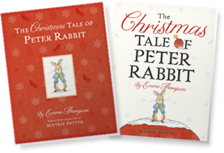 cover art of The Christmas Tale of Peter Rabbit
