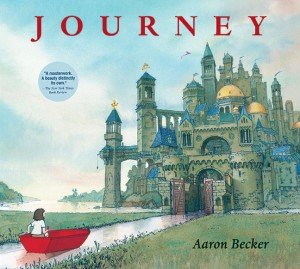 Cover of JOURNEY by Aaron Becker. Copyright © 2013 by Aaron Becker, from Candlewick Press.